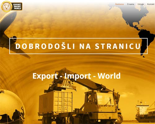 Export Import World