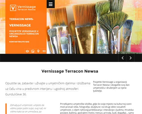 Terracon News: Vernissage